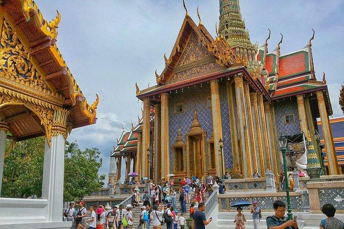 Bangkok's Grand Palace & Top Sights Private Walking Tour