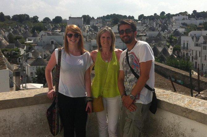 TOUR - Bari, Polignano a Mare and Alberobello (complimentary transfer service)