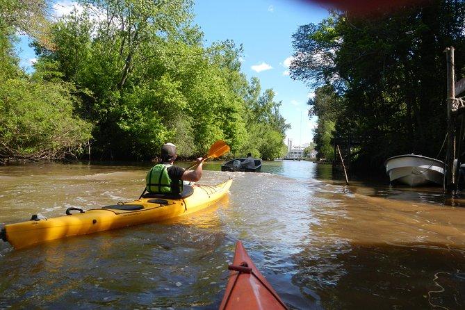 Kayak adventure 2 hours Delta de tigre