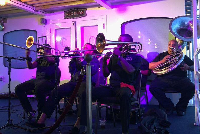 Our traditional brass band is sure to get the party jumping!