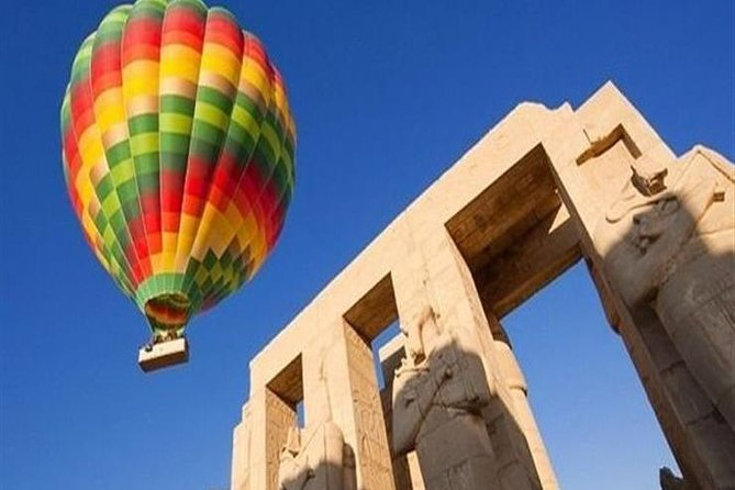 Best of Luxor Tours with Hot Air Balloon, 3 days includes hotel stay