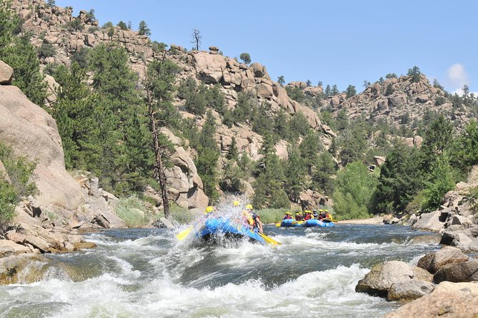 Browns Canyon Whitewater Rafting Half-Day Trip