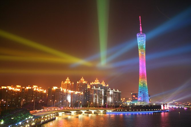 Pearl River Night Cruise and Karaoke Tour with Buffet Dinner in Guangzhou