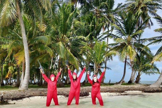 "San Blas Day Tour visiting the famous ""Money Heist"" island & native Kuna village"
