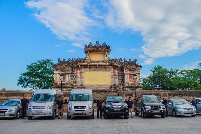 Hue Car Rental - Sightseeing City Tour by Private Car Transfer