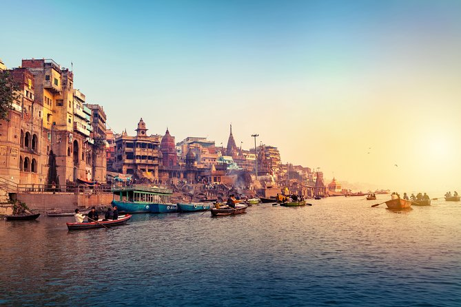 Boat Ride on River Ganges and Stroll in Streets of Vishwanath in Varanasi