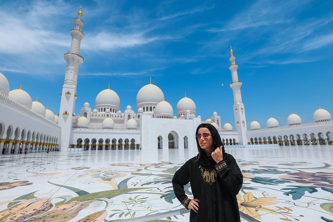 Sheikh Zayed Mosque with a Professional Photographer