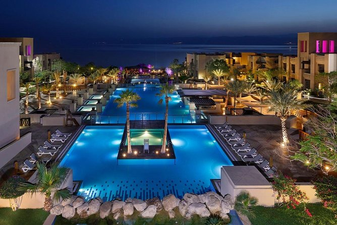Day use at Dead sea with Lunch (5 star resort) Private Transportation