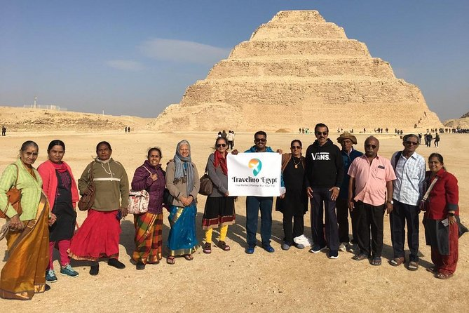 Pyramids of Giza, Sakkara & Memphis: Private Tour with Lunch