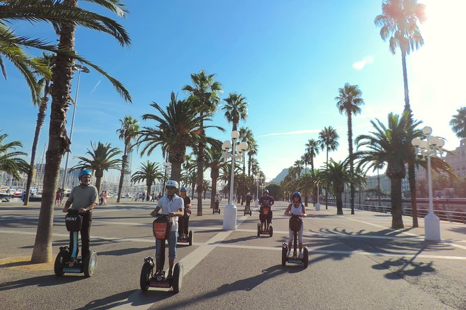 2-Hour Barcelona Live-Guided Segway Tour