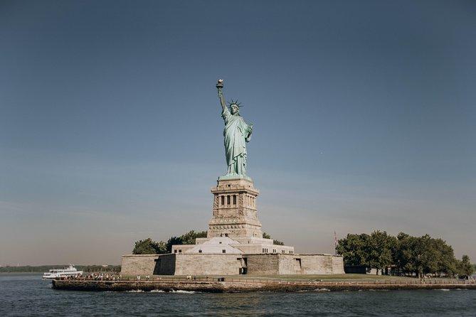 Statue of Liberty with Pedestal Access & Ellis Island Tour