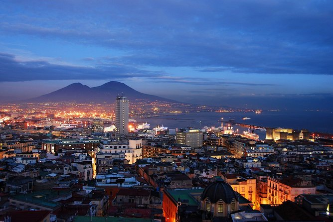 Naples by Night with Romantic Dinner: Luxury Dinner Experience