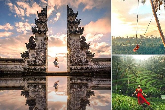 Best Bali Instagram Sights - Gate of Heaven - Swing - Ubud - Waterfall and More