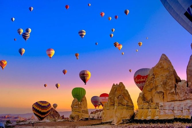 Daily Cappadocia Green Tour from Istanbul by Flight