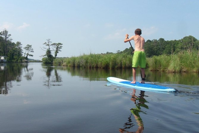 Stand Up Paddleboard Adventure on the Outer Banks