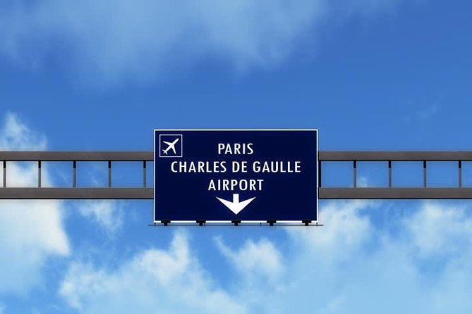 Paris Private Transfer from Charles de Gaulle Airport