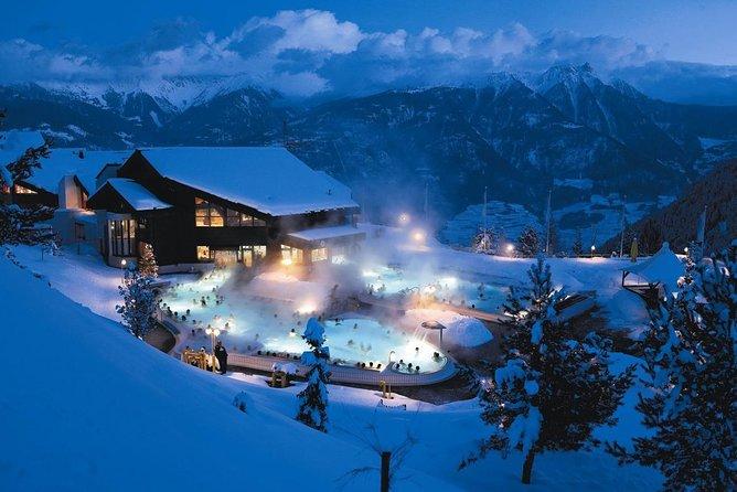瑞士冬天泡溫泉