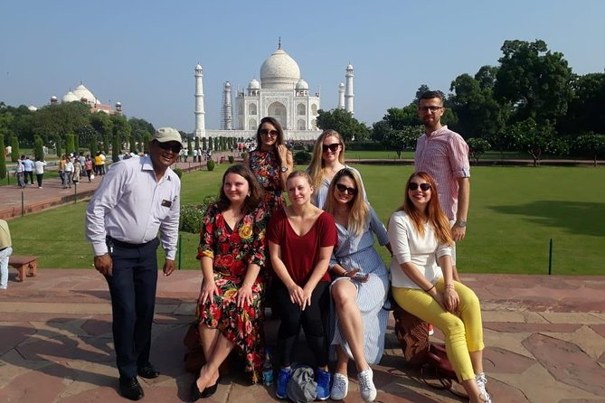 Taj Mahal and Agra Fort tour By Superfast Train from Delhi