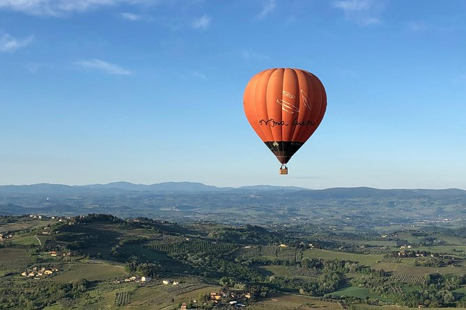 Hot Air Balloon Ride from Rome through Lazio