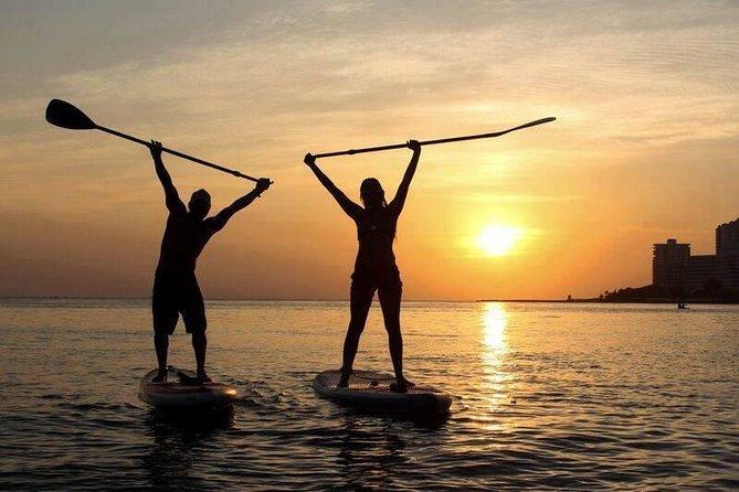 LED Paddleboard Sunset Glow Tour