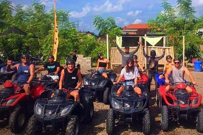 Bali ATV Quad Bike with Ayung River Rafting