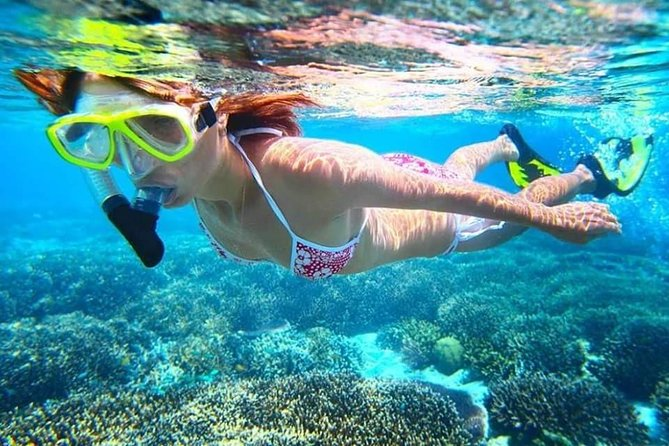 Blue Lagoon Snorkeling, Virgin Beach, Waterfall, Kecak Fire dance