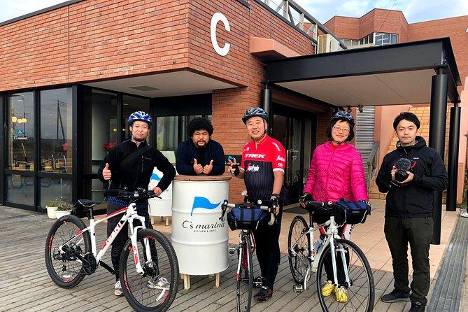 [Narita Airport Terminals 1 and 2] Downtown Tokawa fishing port gourmet lunch and cross bike tour around Choshi coast
