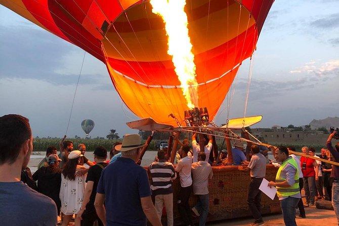 Hot Air Balloon Ride Over - Luxor