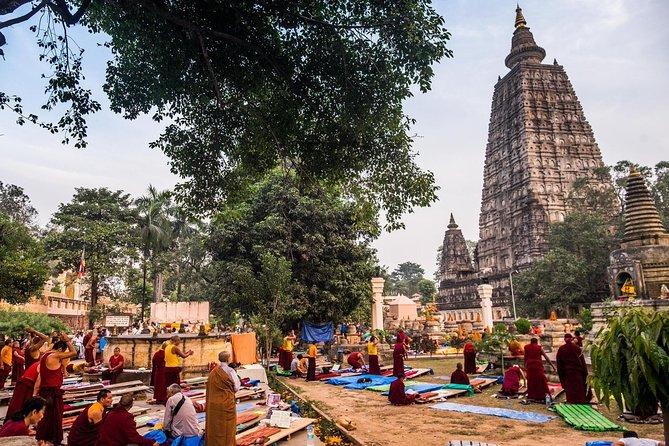8 Days Divine Steps of Buddha Tour from Bodhgaya