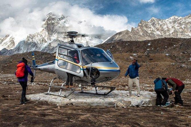 Helicopter Flight from Kathmandu to Lukla