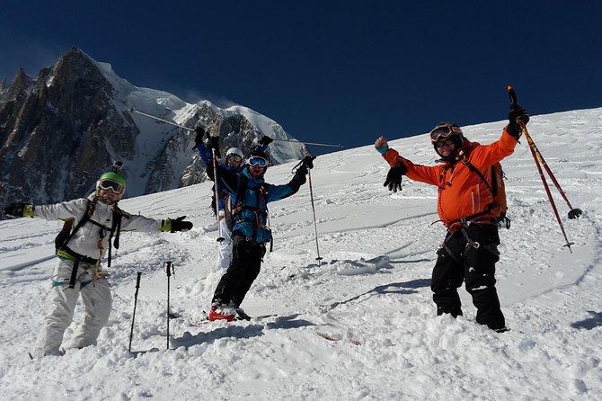 Ski Vallée Blanche, Chamonix