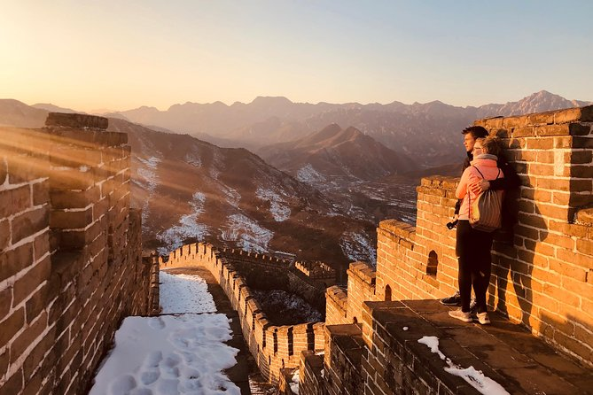4-Hour Huanghuacheng Great Wall Sunset Tour with Airport Transfer