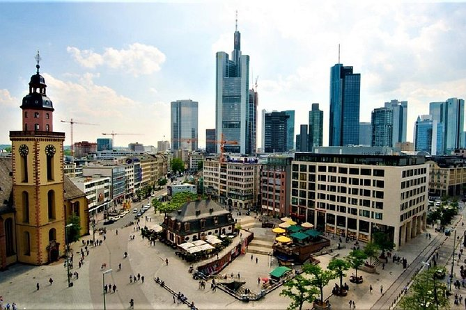 Amazing walking Frankfurt with a local guide