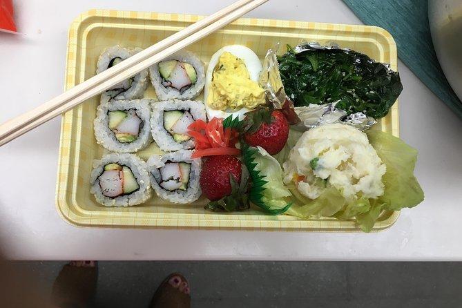 California Roll Sushi Bento