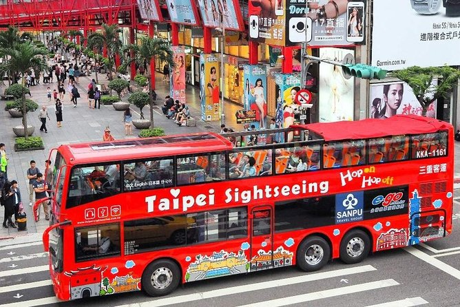 Taipei Sightseeing Bus Hop On Hop Off