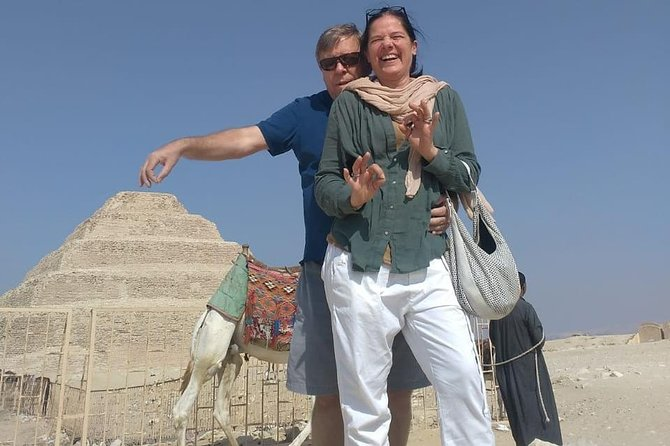 Sakkara pyramids, Memphis old city Dahshur bent & red pyramid