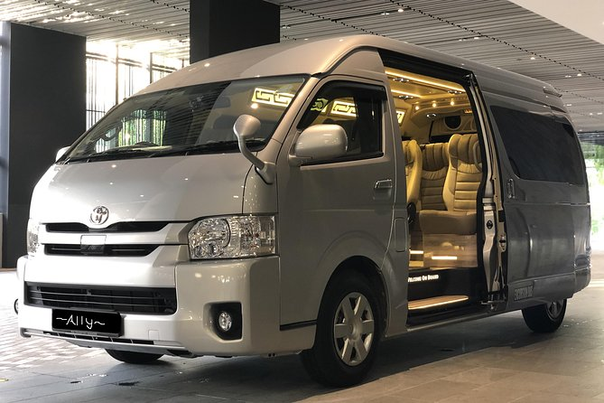 13 seater mini Limo bus for your ground transport in Singapore