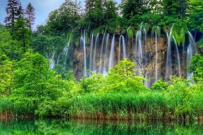 From Plitvice Lakes to Zagreb private one-way transfer