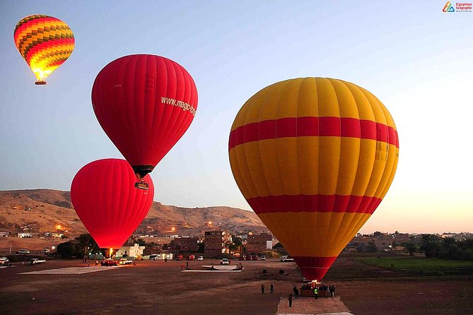 Hot Air Balloon with Luxor Full Day 5 Tours With Sailing Felucca