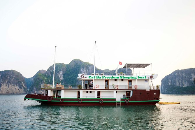 Visit Lan Ha Bay, Ha Long Bay on Sleeping Boat Full 2 days 1 night