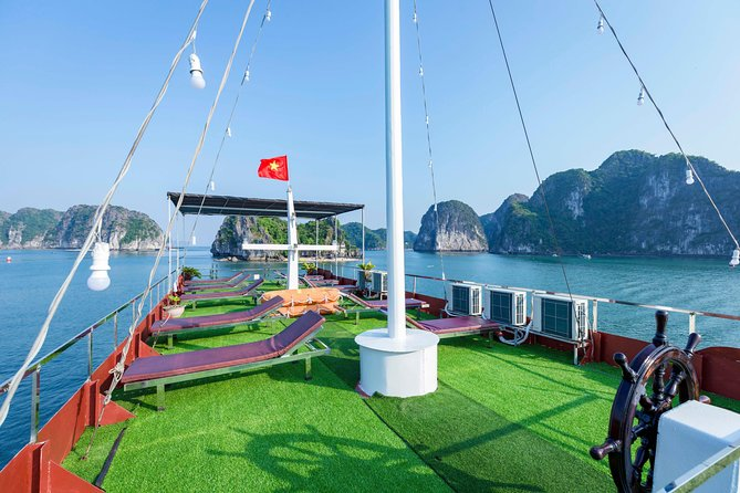Visit Lan Ha Bay, Ha Long Bay on Sleeping Boat Full 2 days 1 night photo 2