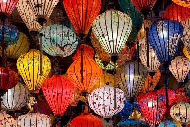 GuidedTour to do Lantern Making Class&Hoi An Walking Tour in Morning orAfternoon