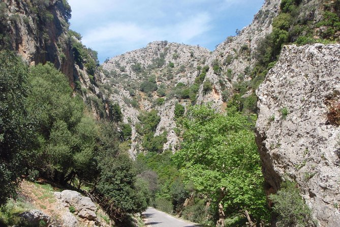 West Crete Nature and Landscape Tour with Lunch Half Day Tour