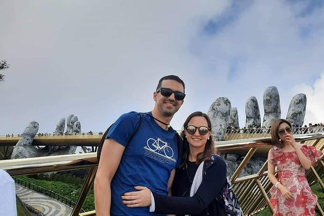 Guided Tour to Visit GOLDEN BRIDGE BA NA HILLS Via Cable Car & Photo Opportunity
