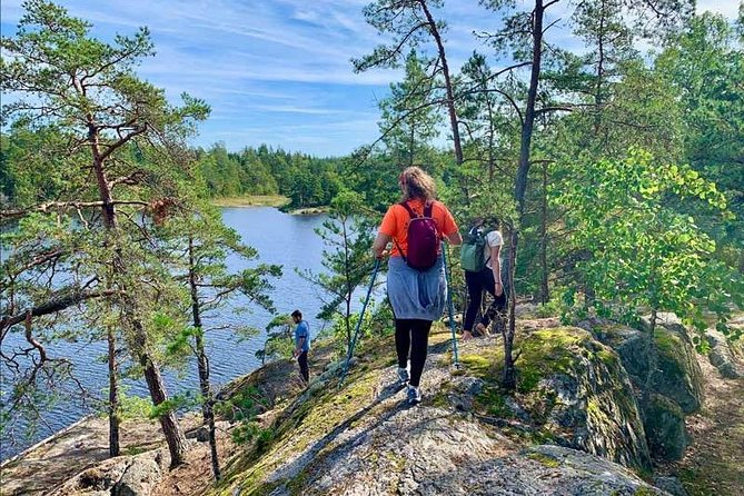 Hiking in Nature Reserve Stockholm