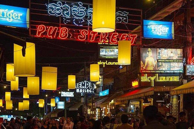 Night Market with tuk tuk transport - Apsara Show Dinner & Pubstreet