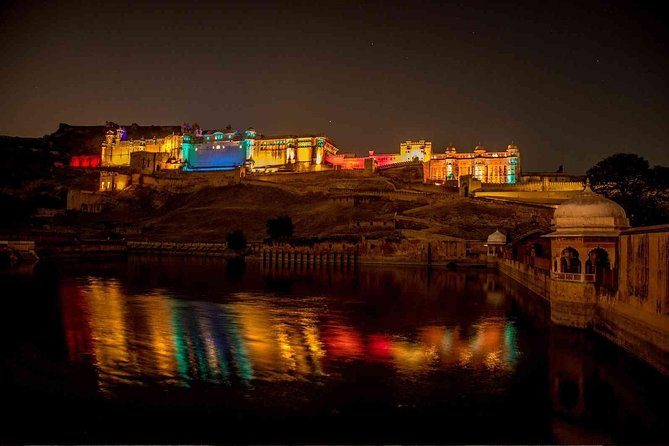 Sound & Light Show at Amber Fort