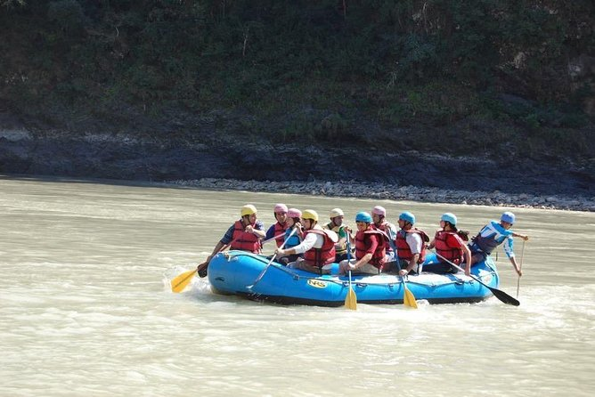 Rafting in Rishikesh with deluxe cottage stay