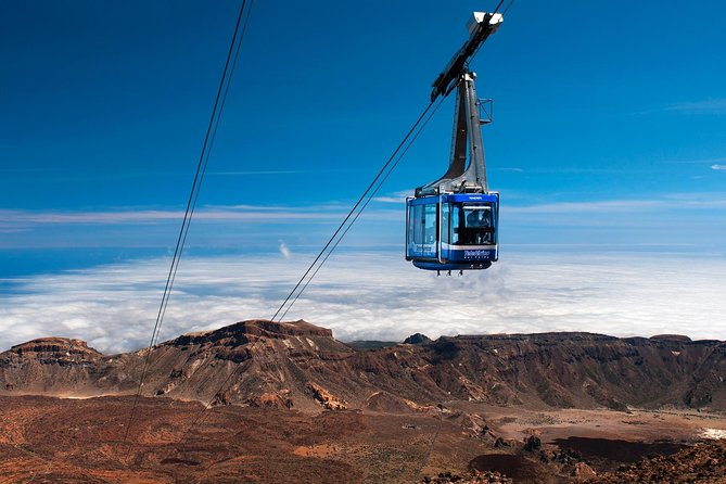 Private 8-hour shore excursion to El Teide + Cable Car with guide and driver