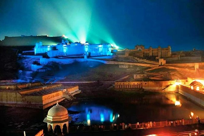 Sound and Light show at Amber Fort, Jaipur